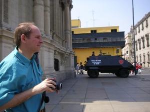 Professor Robert Shepherd, Lima 2007