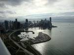 Downtown Panama from the top of Destiny