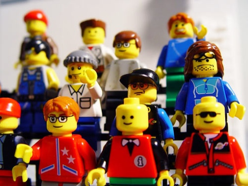 Even Lego people have to get jobs at some point. (Photo courtesy COB LOG LAB)
